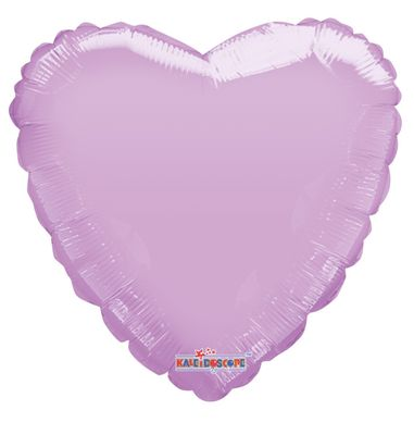 Pastel Pink Heart Balloon - 18 Inch