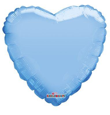 Pastel Blue Heart Balloon - 18 Inch