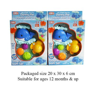 T13737 Danny The Dolphin Bath Toy