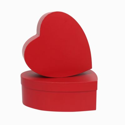 Red Heart Hat Box Set of 2