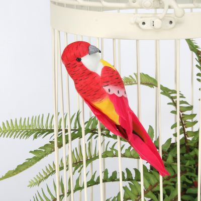 Red Budgie w/clip