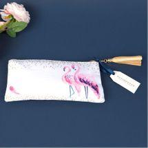 Swan Lake Flamingo Cosmetic Bag