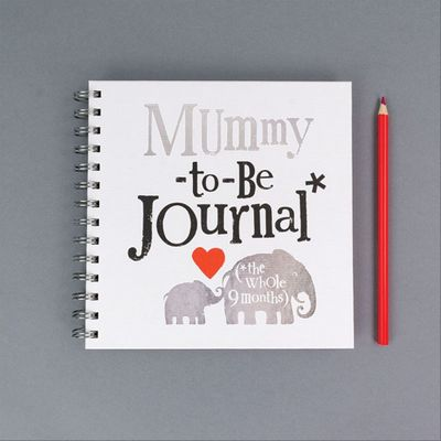 Brightside Mummy to be Journal with stickers **MULTI 6**