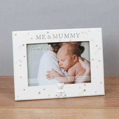 "6"" x 4"" - Bambino Resin Mummy & Me Photo Frame"