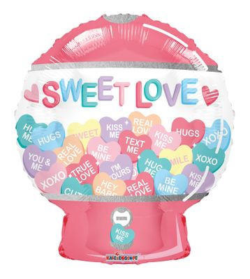 Sweet Love Balloon - 18 Inch