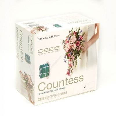 Premium Oasis Countess Bouquet Holder (4 pack)