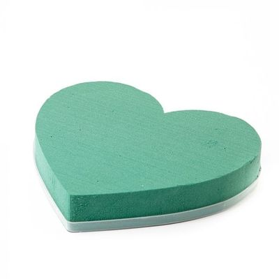 7 inch Solid Heart Oasis Floral Foam (2 pack)