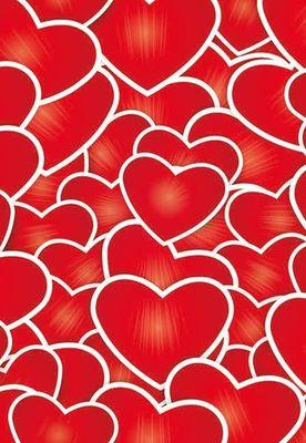 Jar of Hearts Folded Card (pk25)