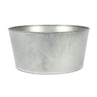 23cm Antique Grey Zinc Bowl