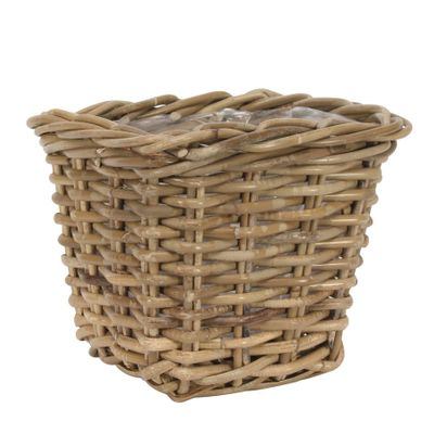Square Conical Basket with Liner