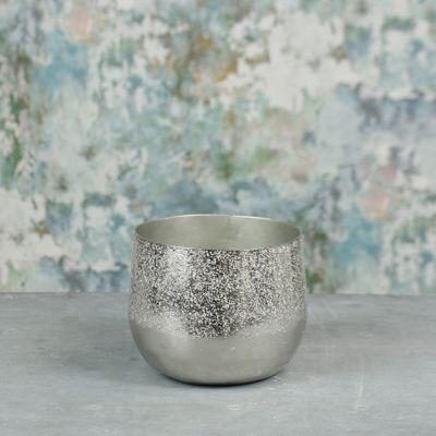 Mayfair Planter Small Silver
