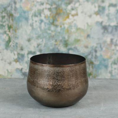 Mayfair Planter Medium Bronze