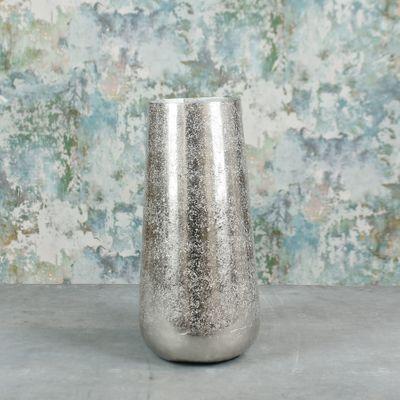 Mayfair Foyer Vase Small Silver
