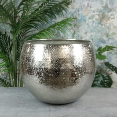 Hampstead Planter Medium Silver