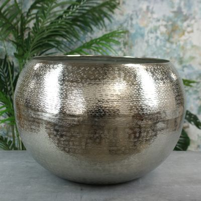 Hampstead Planter Large Silver