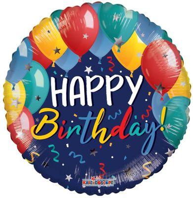Eco Balloon - Birthday Festive Balloons (18 Inch)
