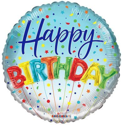Eco Balloon - Birthday Balloons (18 Inch)