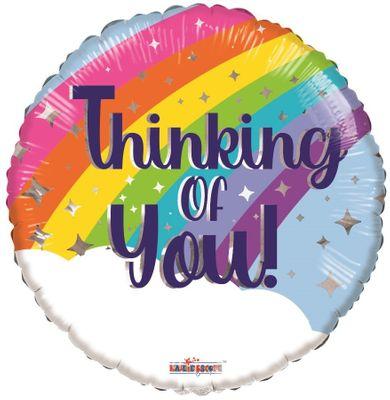 Eco Balloon - Thinking of You Rainbow (18 Inch)