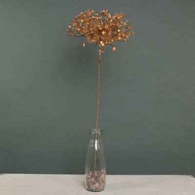 Metallic Allium with giltter Gold