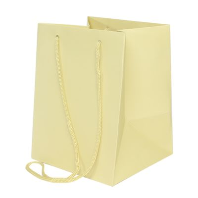 19x25cm Sage Cream Hand Tie Bag (10/100)
