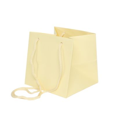 17x17cm Cream Hand Tie Bag (10/100)