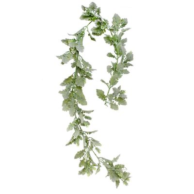 Dusty Miller and hops Garland 180cm
