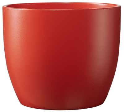 Basel Colour Splash Matte Light Red (W8cm x H7cm)