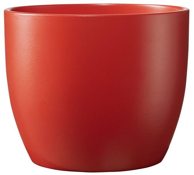 Basel Colour Splash Matte Light Red (W13cm x H12cm)