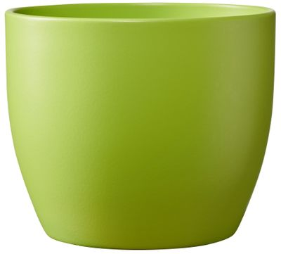 Basel Colour Splash Matte Banana Green (W15cm x H16cm)