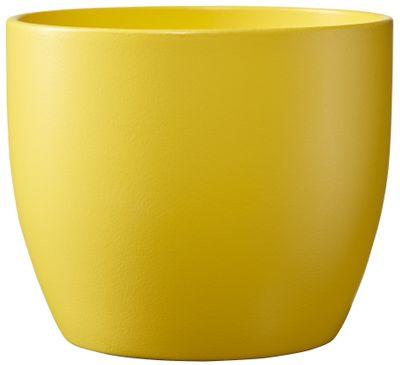 Basel Colour Splash Matte Sunny Yellow  (W14cm x H13cm)