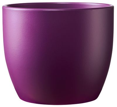 Basel Colour Splash Matte Dark Lilac (W8cm x H7cm)