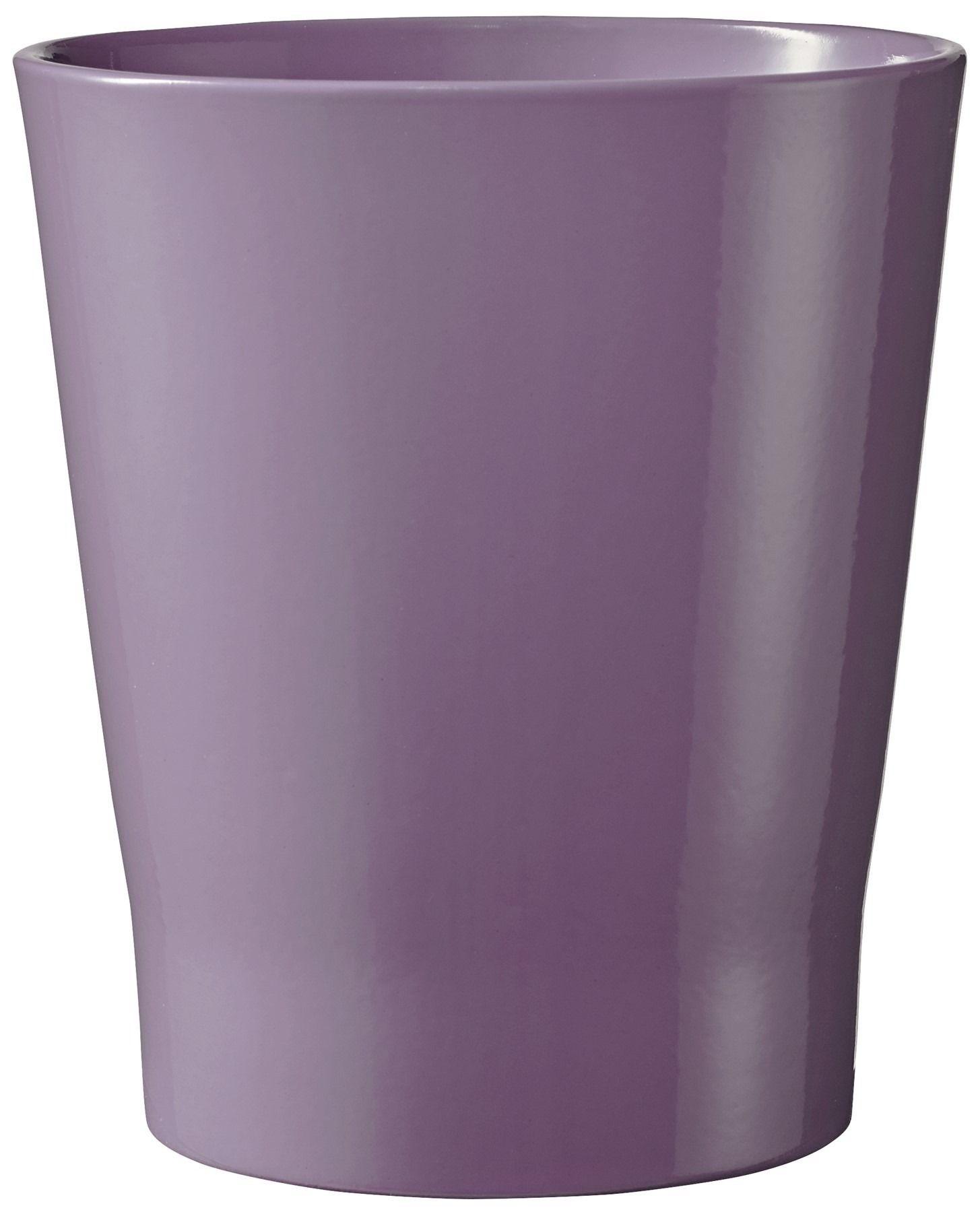Merina Orchid Vase Shiny Antique Lilac (W14cm x H15cm)