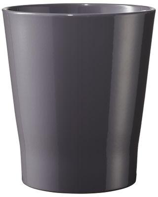 Merina Chic Orchid Vase Shiny Mystic Grey (W14cm x H15cm)