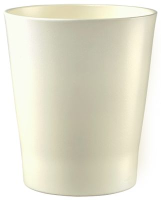 Merina Pastel Orchid Vase Matte Cream (W14cm x H15cm)