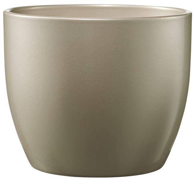 Basel Elegance Metallic Grey-Beige (W14cm x H13cm)