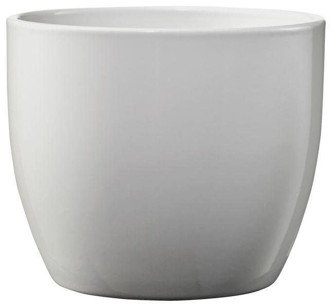 Basel Elegance Shiny Light Grey  (W14cm x H13cm)