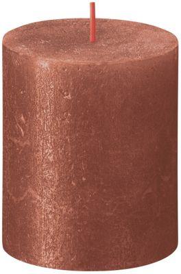 Bolsius Rustic Shimmer Metallic Candle 80 x 68 - Amber