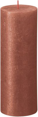 Bolsius Rustic Shimmer Metallic Candle 190 x 68 - Amber
