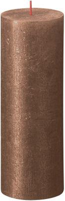 Bolsius Rustic Shimmer Metallic Candle 190 x 68 - Copper
