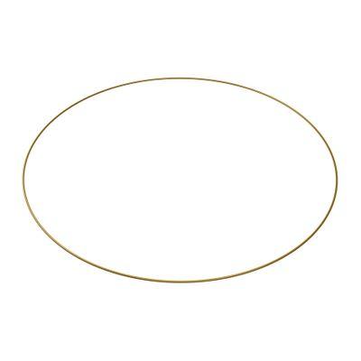 60cm Gold Bridesmaid Flower Hoop (1/10)