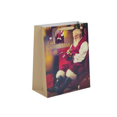 Traditional Santa Gift Bag L