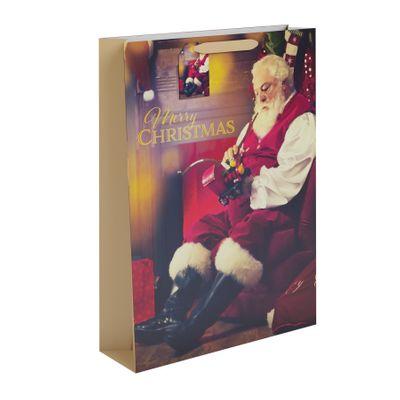 Traditional Santa Gift Bag XL
