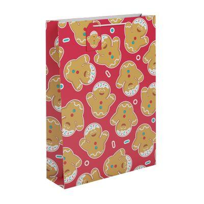 Gingerbread  Gift Bag XL