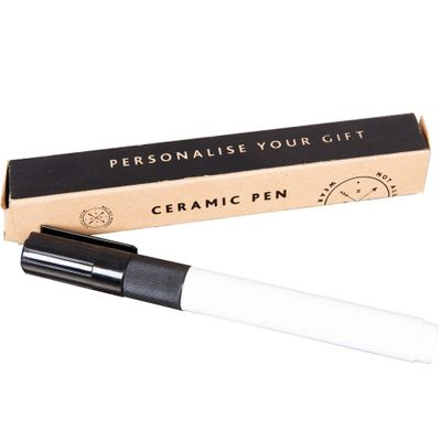 Black Ceramic Pen - Personalisation Pen For Mugs