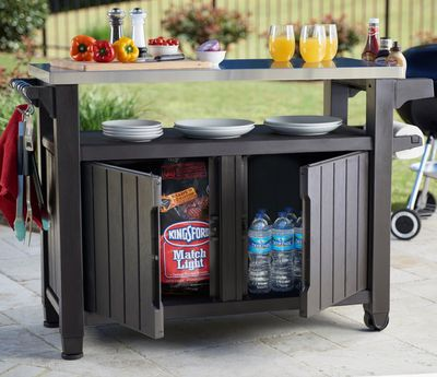 Unity BBQ Table 279L Anthracite