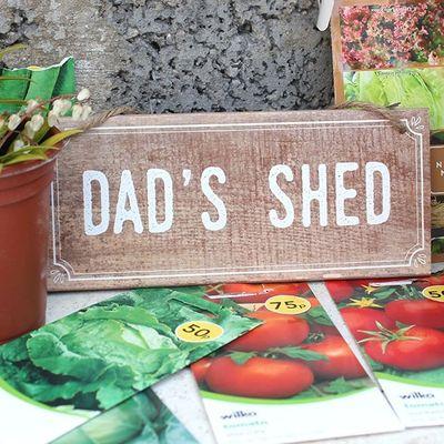 Dads Shed MDF Sign