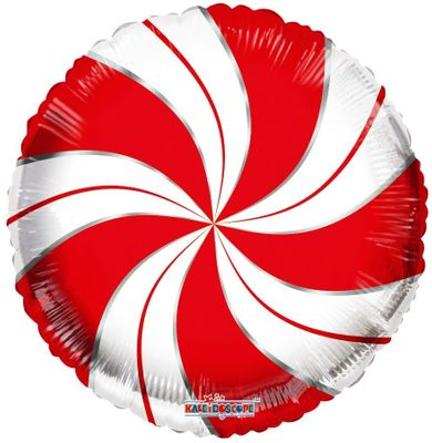 Candymint red/white Baloon (18 Inch )