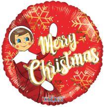 Christmas Elf Balloon (18 Inch)