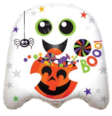 Halloween Ghost Shape Balloon (18 Inch)