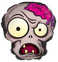 Halloween Zombie Head Balloon (18 Inch)
